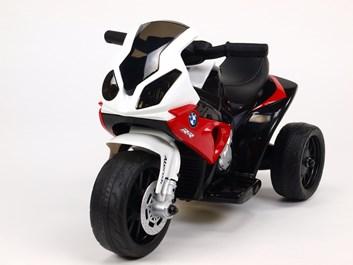 Dětská leketrická motorka BMW Mini Trike červená