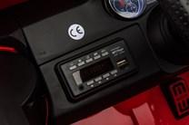 Mercedes Benz G63 6x6, lakovaná červená barva