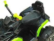 Dětská elektrická čtyřkolka Predátor s dálkovým ovládáním 2,4G  BDM0906 RCČNZ