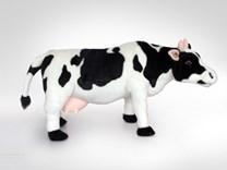 Plyšová kráva stojící MC84D