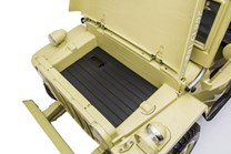 Dětská elektrický vojenský Jeep Willys