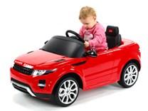 Dětské el. autíčko Licenční Range Rover EVOQUE červená