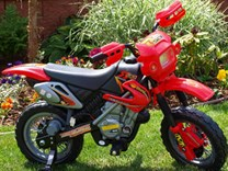 Dětská motorka cross