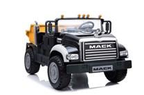 Dětské  nákladní auto licenční MACK TRUCKS s 2,4G dálkovým ovladačem , černý