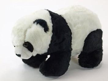 Plyšová stojící panda