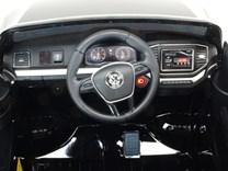 Dětské el. autíčko Volkswagen Amarok 4x4 náhon všech kol, 2,4G DO - VWAmaroklak.bleck