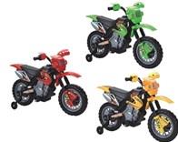 Dětská motorka cross- červená