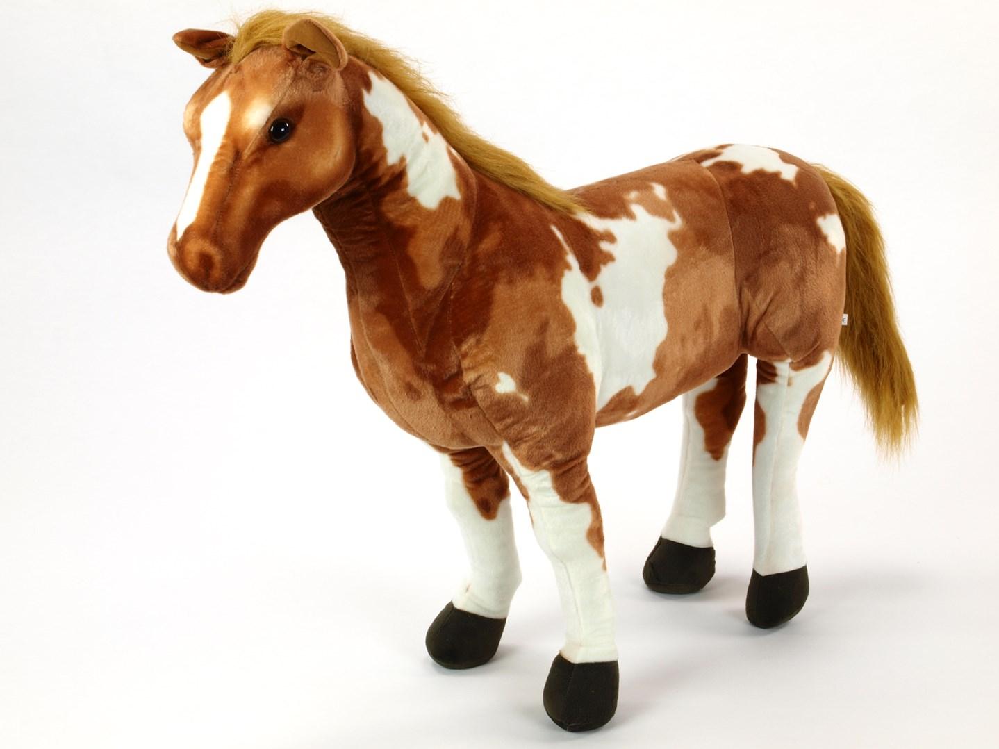 Plyšový kůň grošák XL velikost 94 cm - HR94AP