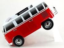 Dětské el. autíčko autobus  Volkswagen Transporter Samba bus s 2.4G DO -ABL1608.blue