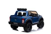 Dětský. elektrický pick-up Ford Raptor  pro 2 děti v modré lakované barvě
