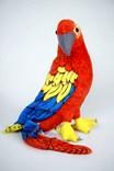 Plyšový papoušek ARA červený  58cm