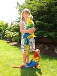 Plyšový papoušek ARA 58cm