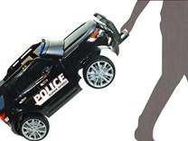 Dětské el. autíčko Policie super speed