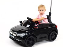 Dětské licenční el. autíčko BMW s vodící tyčí  XMX826.red