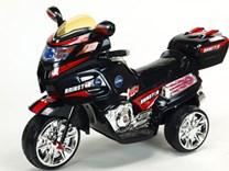 Velká dětská elektrická motorka Rainstar s MP3  - HL219.black