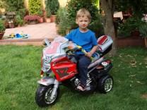 Dětská elektrická motorka Kingpropa
