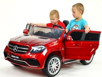 Dětské elektrické autíčko pro 2 děti , Mercedes GLS63 , náhon  4x4