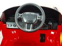 Dětské el. autíčko Licenční Range Rover EVOQUE červená volant