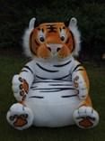 Dětské plyšové křesílko tygr