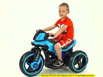 Dětská elektrická motorka VELKÁ 101cm, SW198A.red