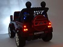 Dětské elektrické autíčko Džíp Courage s 2,4G DO -DKF006LAKČV-zad světlo