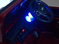 Dětské elektrické autíčko Džíp Courage s 2,4G DO -DKF006LAKČV-osvětlení