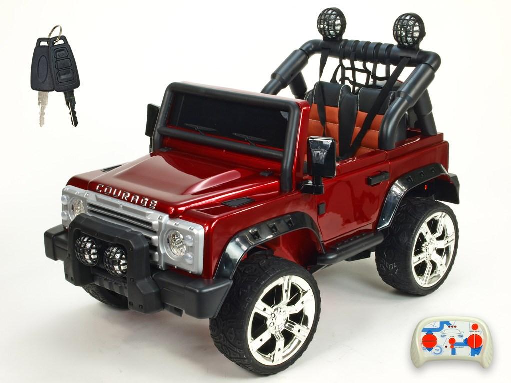 Dětské elektrické autíčko Džíp Courage s 2,4G DO -DKF006LAKČV-celkový pohled