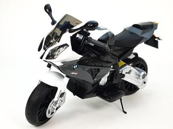 Dětská el. motorka licenční BMW  stříbrná