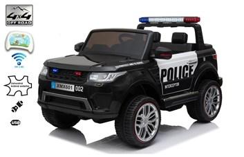 Dětský dvoumístný elektrický policejní vůz Rover policie 911 s 2,4G D