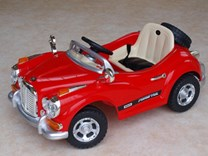 Luxusní sportovní retro auto + RC