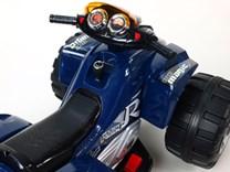 Dětská elektrická čtyřkolka TOP RST  modrá -poslední 2 kusy
