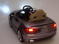 Dětské elektrické autíčko AUDI RS5 - FJ526MET.silver - černá