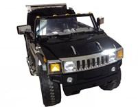 Dětské el. auto Hummer - 1206H.černá