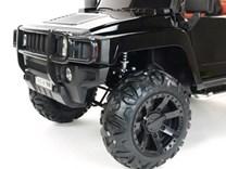 Dětské el. autíčko Dvoumístný Hummer Simba s 2,4G DO černá