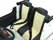 Dětské elektrické autíčko , dvoumístná sanitka  4x4 s 2,4G dálkovým ovladačem (kopie)