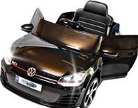 Dětské elektrické autíčko licenční VW Golf GTI - FJ528.black