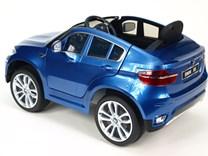 DĚTSKÉ AUTÍČKO LICENČNÍ BMW X6 modrá lakovaná