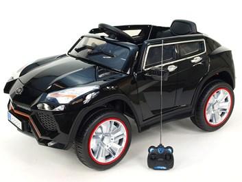 Dětské el. auto  Luxusní SUV BRUTUS  černý - poslední kus