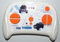 Dětské el. autíčko pro 2 děti Ford Ranger 4x4 - modrá lakovaná barva