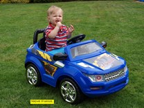 Dětské el. autíčko mini SUV PB6600.red