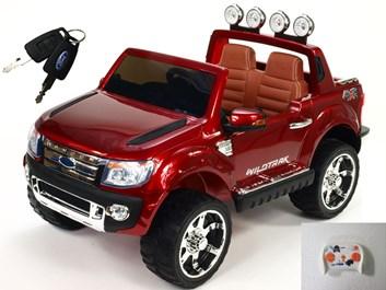 Licenční džíp Ford Ranger LUX s DO vínová lakovaná