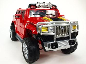 Dětské elektrické auto H2 Extender NEW s 2,4G dálkový ovladač  červené