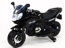 Dětská silniční závodní motorka 12V  - J558.black
