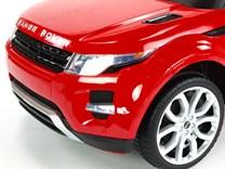 Dětské el. autíčko Licenční Range Rover EVOQUE červená kolo