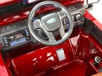 Dětské elektrické autíčko Džíp Courage s 2,4G DO -DKF006LAKČV-volant