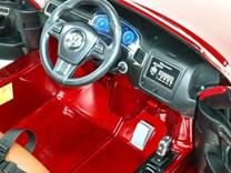 Dětské elektrické auto SUV Volkswagen Touareg s 2,4G DO , lakované - DKF666red