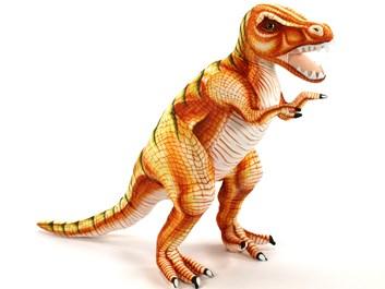 Plyšový Tyrannosaurus Rex  hnědý