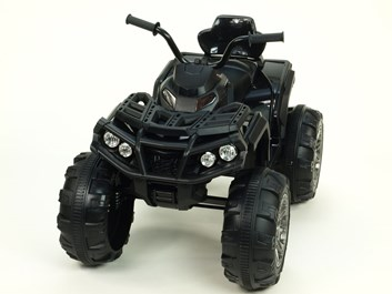 Dětská elektrická čtyřkolka Predátor LUX černá