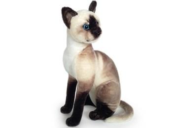 Plyšová sedící kočka Siamská