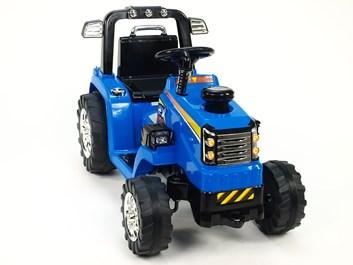 Dětský elektrický traktor 12V - ZP1007.blue